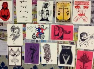 """Karya-karya dari pameran Taring Padi """"Jangan Diam"""", untuk Hari Internasional Perempuan di Survive Garage"""